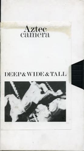 Aztec Camera Deep & Wide & Tall 1987 UK video PROMO VIDEO