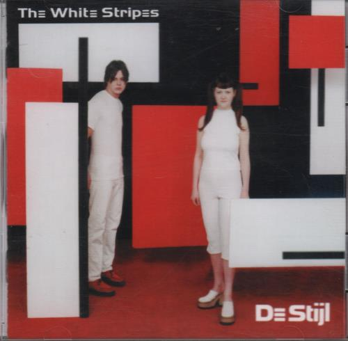 White Stripes - De Stijl CD