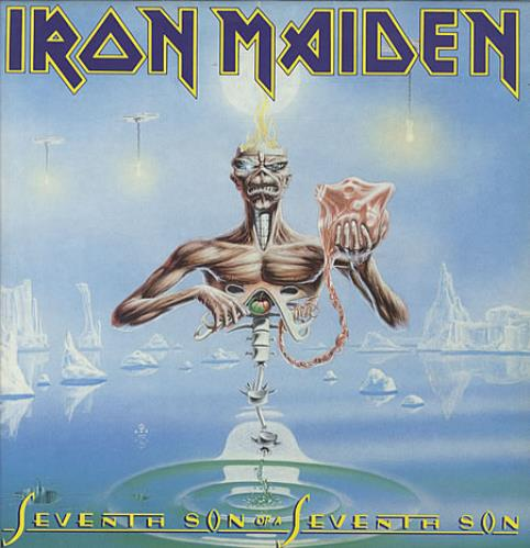 Iron Maiden - Seventh Son Of A Seventh Son + Insert
