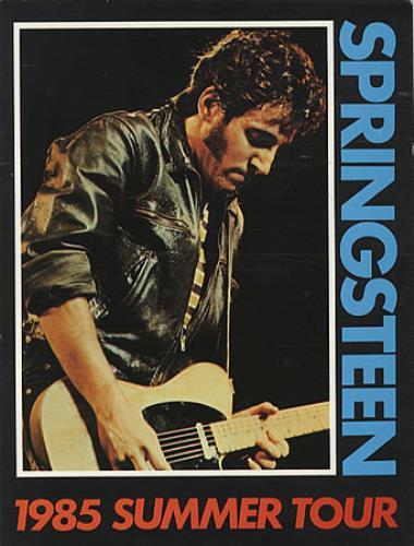 Springsteen, Bruce - 1985 Summer Tour