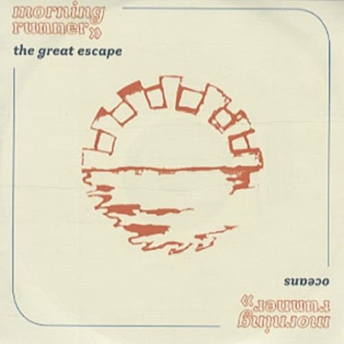 Morning Runner The Great Escape 2003 UK CDR acetate CDR ACETATE