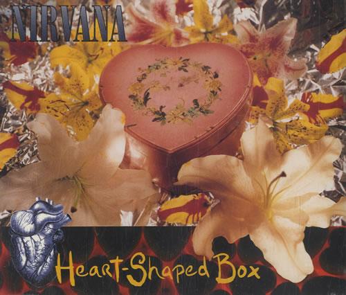 Nirvana (US) Heart Shaped Box 1993 UK CD single GFSTD54