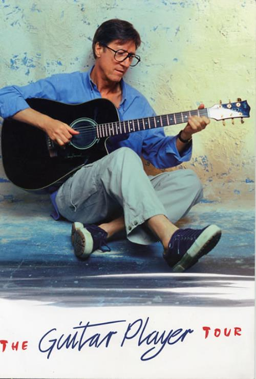 Hank Marvin The Guitar Player Tour 2002 UK tour programme TOUR PROGRAMME
