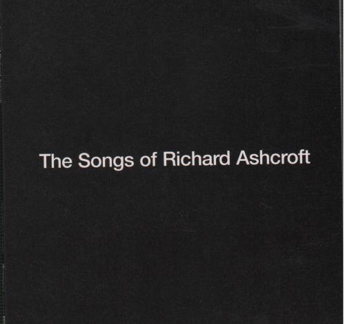 Richard Ashcroft The Songs Of Richard Ashcroft 2005 UK CD album RA2005