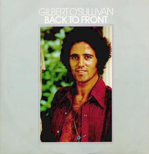 Gilbert OSullivan Back To Front  Poster 1972 UK vinyl LP MAMSS502