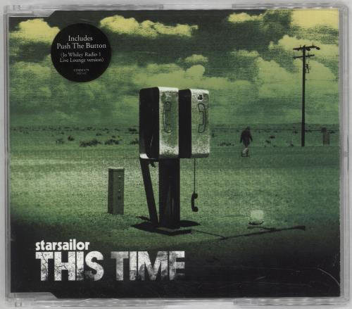Starsailor This Time 2006 UK CDDVD single set CDDVDEM679