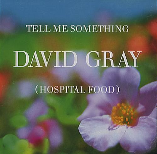 David Gray Tell Me Something (Hospital Food) 2005 USA CD single 8287675585-2