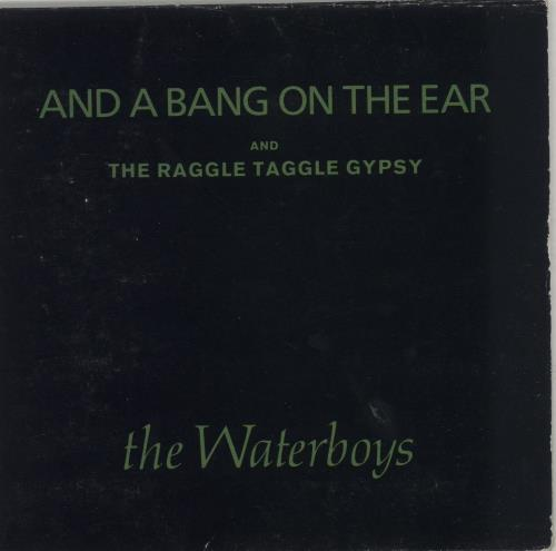 Waterboys And A Bang On The Ear 1988 UK CD single ENYCD624