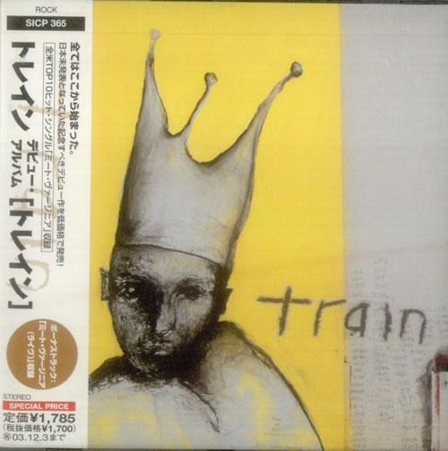 Train Train 2003 Japanese CD album SICP365