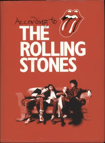 Rolling Stones According To The Rolling Stones 2003 UK book ISBN029784332X