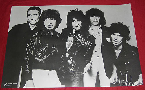 Rolling Stones The Rolling Stones Japanese poster PROMO POSTER