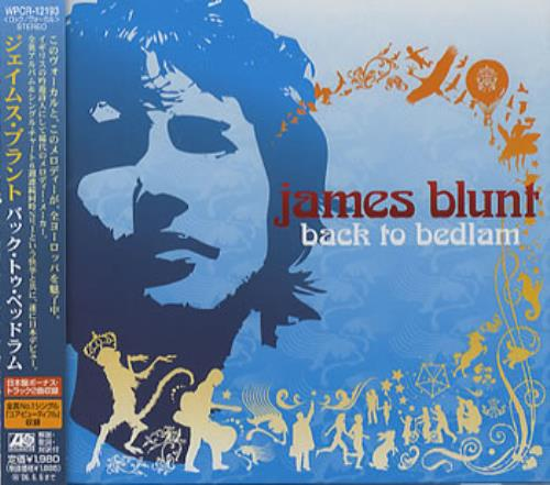 James Blunt Back To Bedlam 2004 Japanese CD album WPCR12193