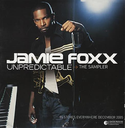 Jamie Foxx Unpredictable 2005 USA CD single 82876742472