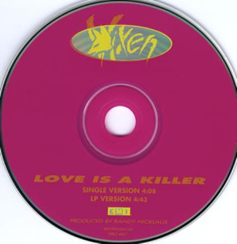 Love Is A Killer - Vixen
