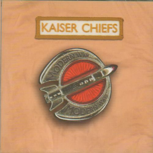 Kaiser Chiefs Modern Way 2005 UK CD single BUN100CDX