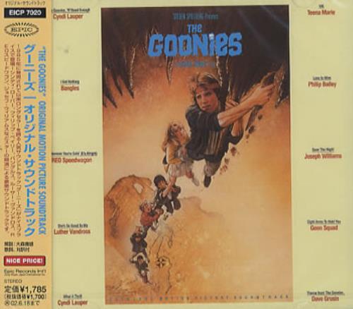 Cyndi Lauper The Goonies 2001 Japanese CD album EICP7020