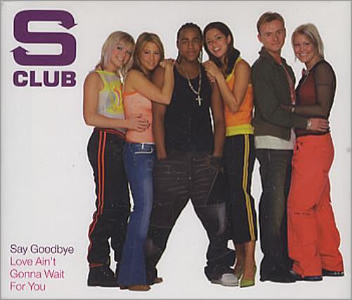 Image of S Club 7 Say Goodbye 2003 European CD single 9807139
