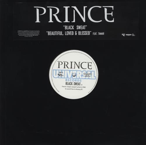 Prince - Black Sweat LP