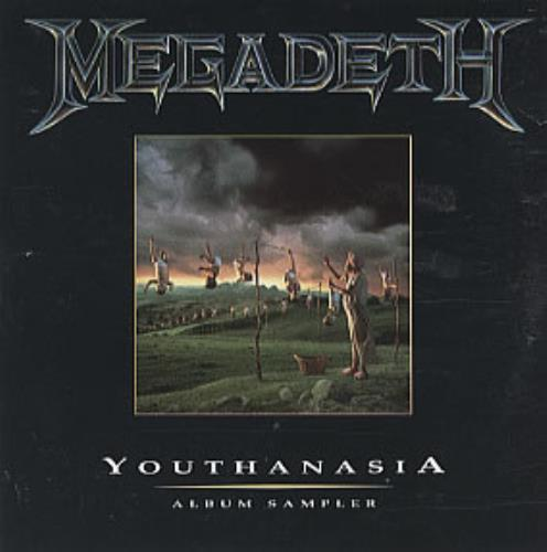 Megadeth Youthanasia Sampler 1994 UK CD single CDAS100