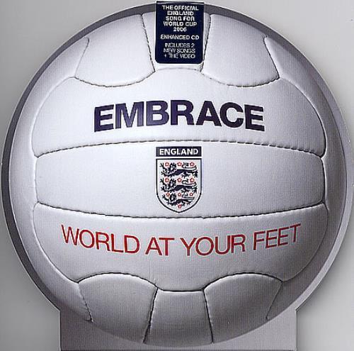 Image of Embrace World At Your Feet 2006 UK 2-CD single set ISOM107MS/SMS