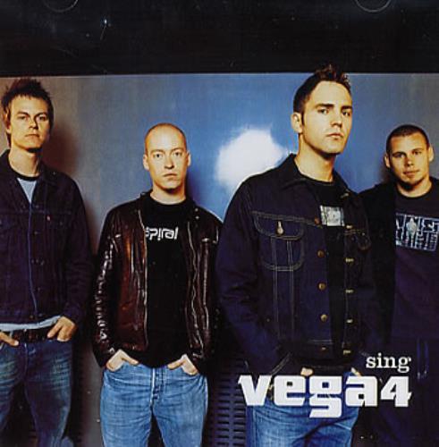 Vega4 Sing EP 2002 UK CD single TMCDEP006