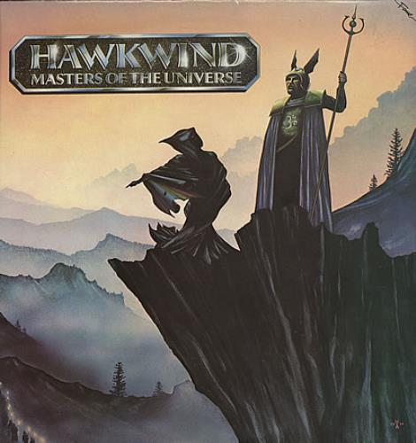 Hawkwind Masters Of The Universe 1985 UK vinyl LP FA3008