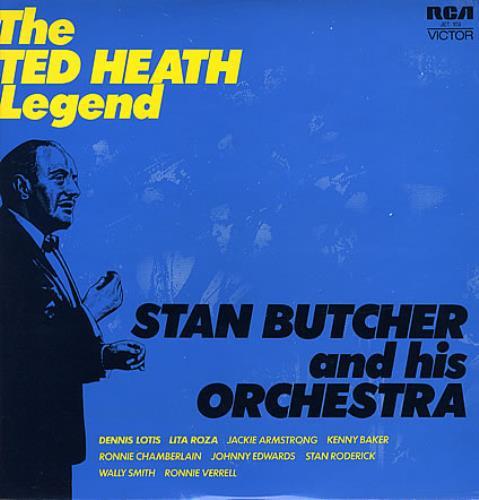 Ted Heath The Ted Heath Legend 1972 UK 2LP vinyl set JET103