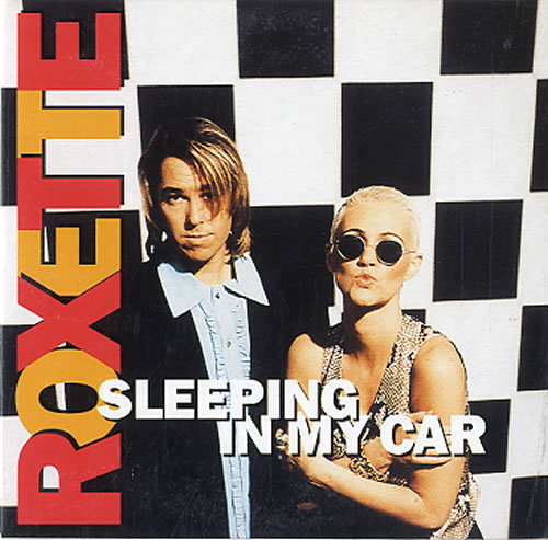 Roxette Sleeping In My Car 1994 Dutch CD single 8650692