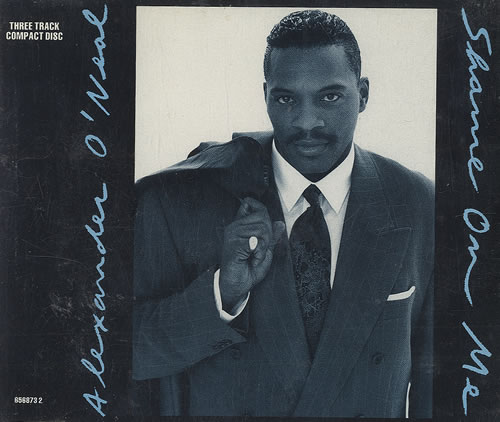 Alexander O'Neal Shame On You 1991 UK CD single 656873-2