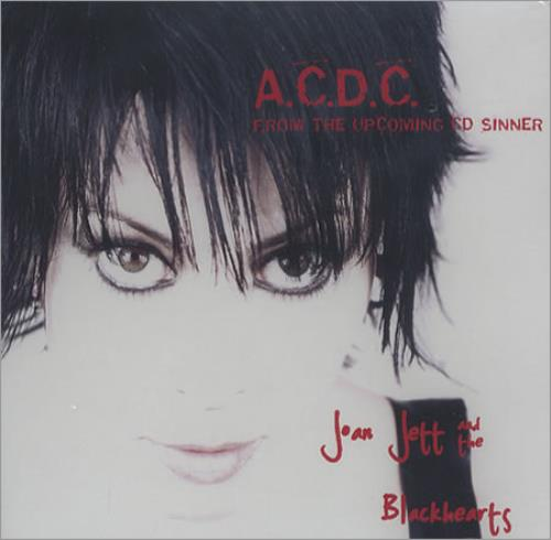 Joan Jett A.C.D.C. 2006 USA CD single ADVANCE CD