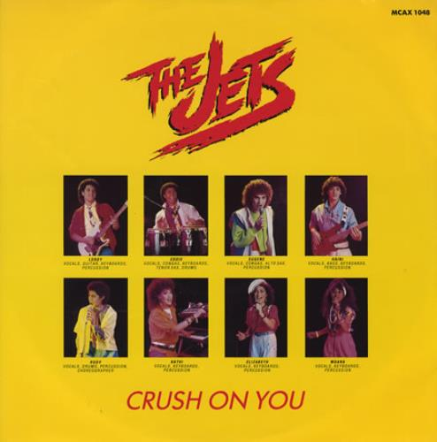The Jets Crush On You 1986 UK 12\