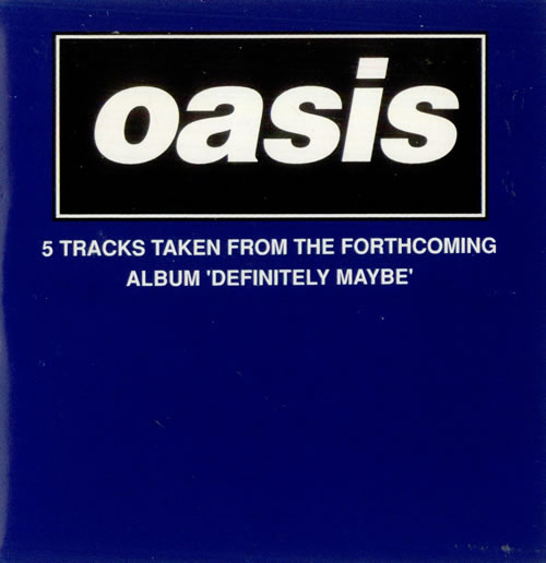 Oasis Definitely Maybe Sampler 1994 French CD album SAMP2218