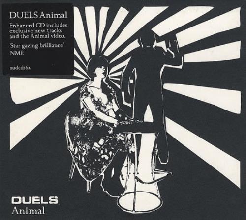 Duels Animal 2006 UK 2CD single set NUDCDCD2S62