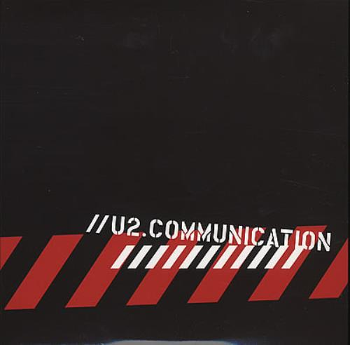 U2 Communication 2005 UK 2CD album set U2.COMV1