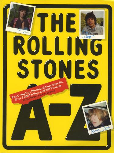 Rolling Stones The Rolling Stones AZ 1984 UK book 0711905495