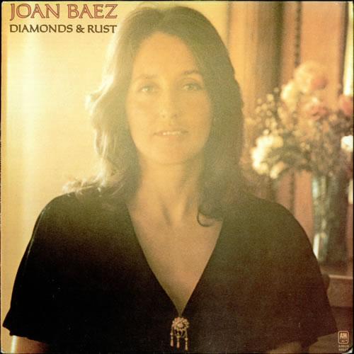 Joan Baez Diamonds & Rust 1975 UK vinyl LP AMLH64527