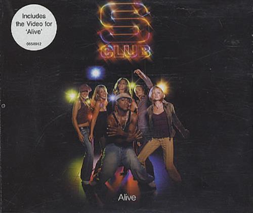 S Club 7 Alive 2002 European CD single 0658912