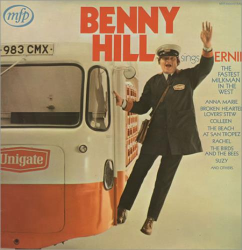 Benny Hill Ernie 1971 UK vinyl LP MFP50040