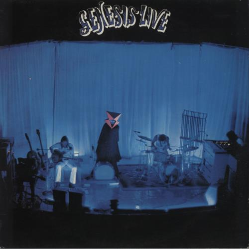 Image of Genesis Live - 3rd 1986 UK vinyl LP CLASS1