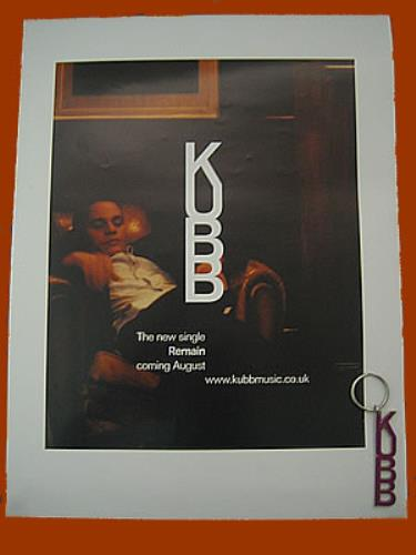 Kubb Remain  Poster & Keyring UK poster PROMO POSTER & KEYRING