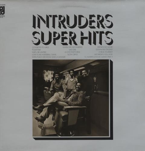 Intruders - Super Hits LP