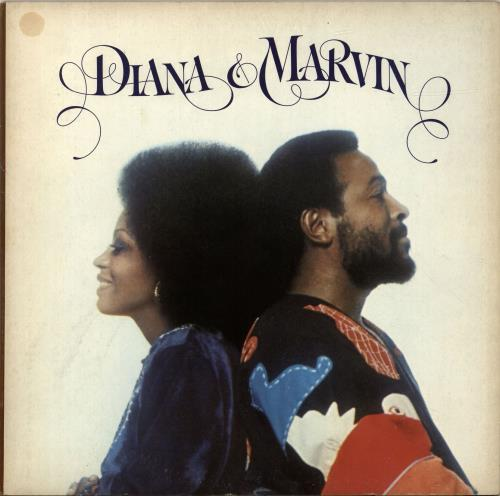 Diana Ross Diana & Marvin 1973 UK vinyl LP STMA8015