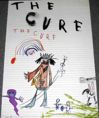 The Cure The Cure 2004 UK poster PROMO POSTER