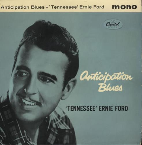Tennessee Ernie Ford Anticipation Blues EP 1961 UK 7\