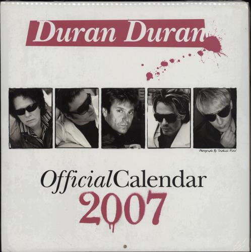 Official Calender 1984