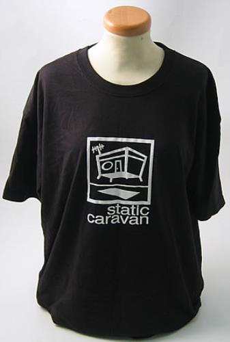 Static Caravan Static Caravan  Black TShirt UK tshirt LARGE TSHIRT  BLACK
