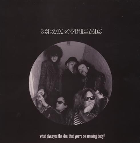 Crazyhead What Gives You The Idea That You\'re So Amazing Baby 1988 UK 12\