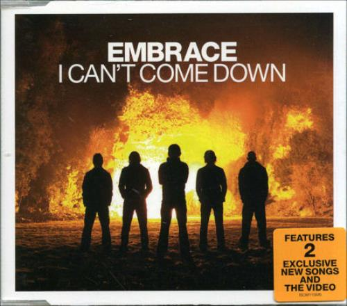 Image of Embrace I Can't Come Down 2006 UK CD single ISOM115MS