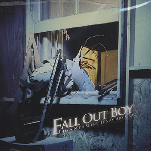 Fall Out Boy This Ain\'t A Scene, It\'s An Arms Race 2006 USA CD single ISLR16686-2