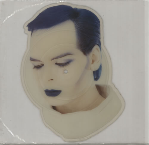 Gary Numan Berserker 1984 UK shaped picture disc NUP4